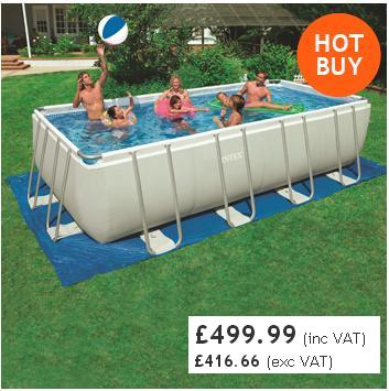Costco pools swimming pools paddling pools uk for Above ground swimming pools uk