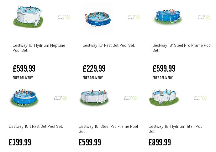 Argos Pools In Stock For Sale 2015 Swimming Pools Paddling Pools Uk