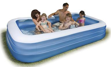 Inflatable pools for kids big lots swimming pools more for Intex swim center family pool cover