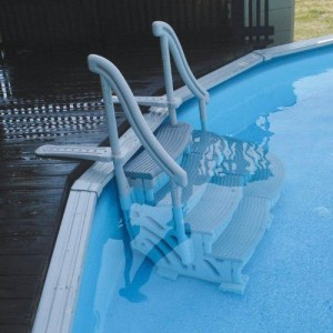 Above Ground Pool Ladder Amp Step System Big Lots Swimming