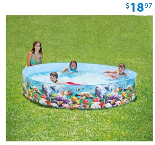 Hard plastic kiddie pools for sale big lots swimming pools more for Artificial swimming pool for sale