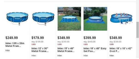 Pools For Sale At Target Big Lots Swimming Pools More