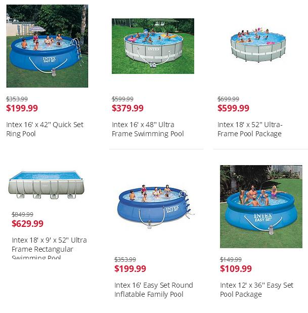 kmart Above ground Pools for sale | Big Lots Swimming Pools ...