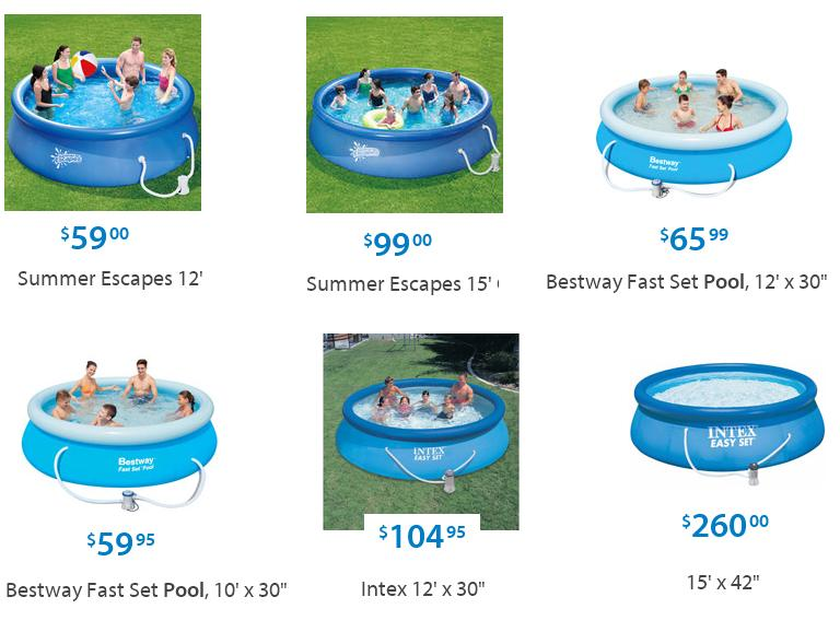 Image Gallery Intex Pools At Walmart