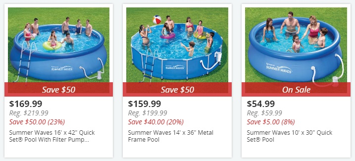 Big Lots Pools