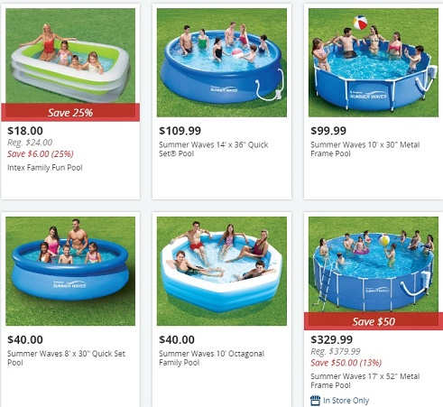 Big Lots Swimming Pools Price Comparisions Offers